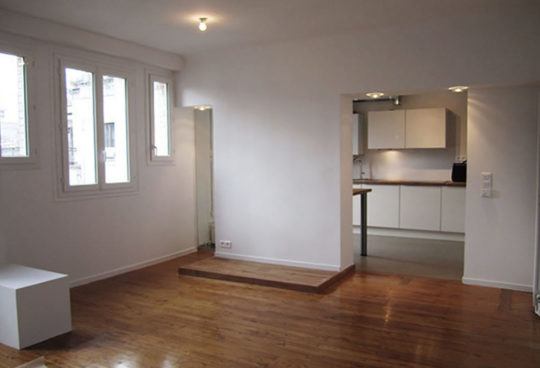 Rénovation d'un appartement à Paris 8