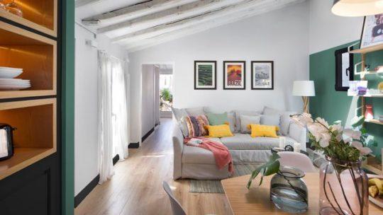 Rénovation d'un appartement sous-pentes