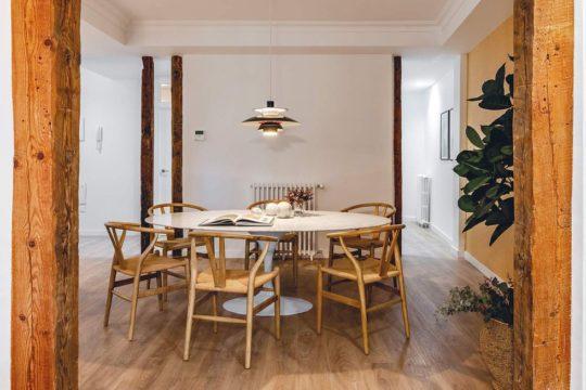 Rénovation d'un salon à Auteuil