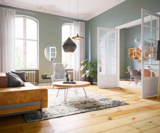 Rénovation d'un appartement avec un style scandinave